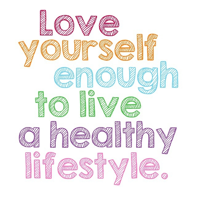61273 love yourself enough to live a healthy lifestyle